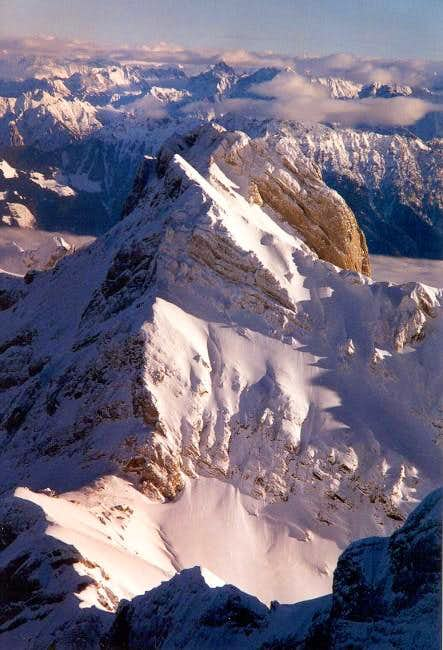 North face of Altmann on a...
