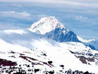 Castle Peak's east face as...