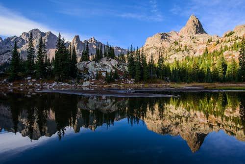 Upper South Rock Creek reflection