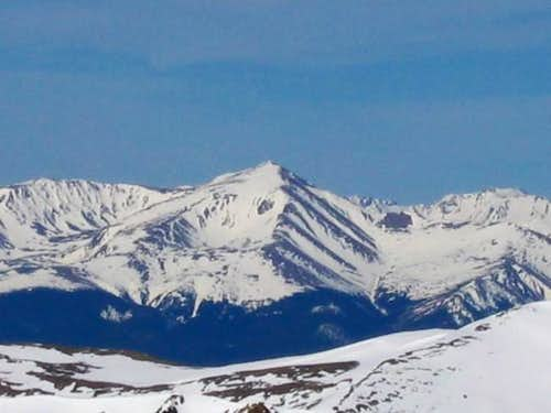 Mt Elbert from the summit of...