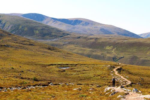 The northern corries of Braeriach, Cairngorms.