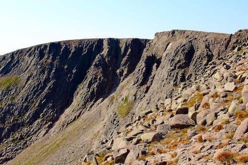 Braeriach summit, Cairngorms.