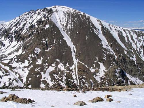 The south face of Quandary...