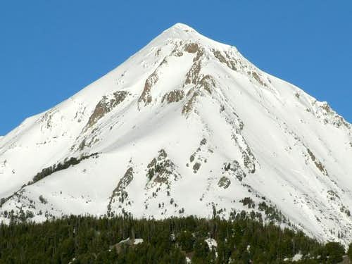 Ryan Peak from the east.