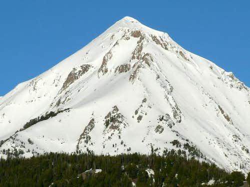 Ryan Peak from the east.