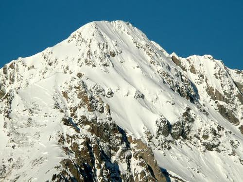 Kent Peak from the east.