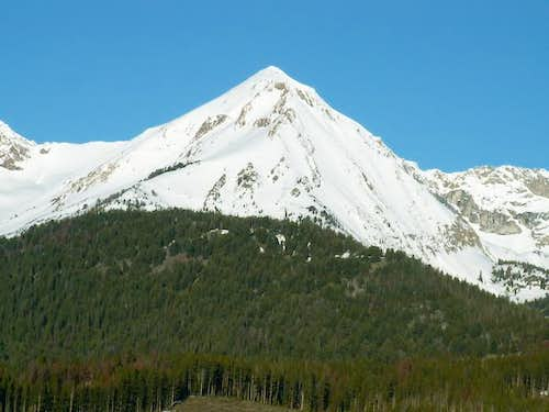 Ryan Peak as viewed from the...