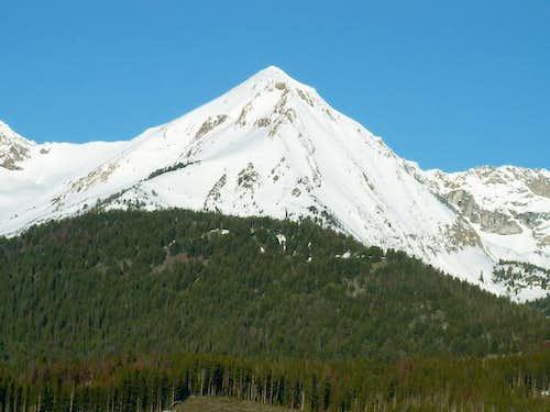 Ryan Peak as viewed from the...