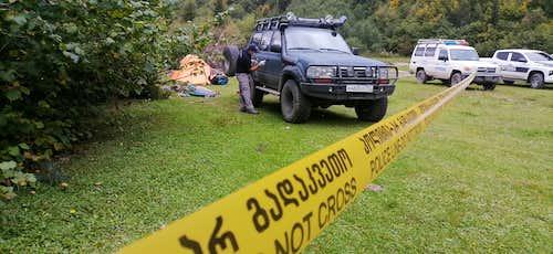 Svaneti / Georgia robbery ALERT