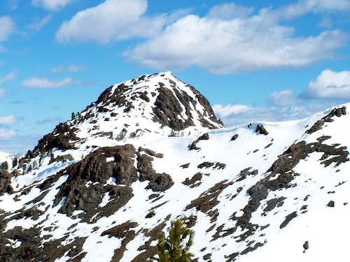 Meridian Peak\'s highest...
