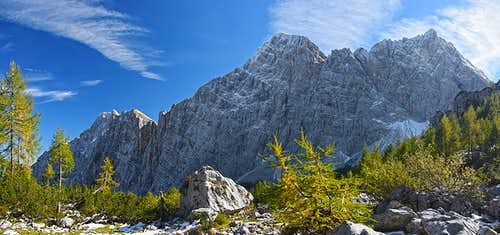 The summits above Krma valley