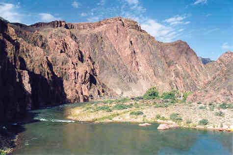 Colorado river, seen from...