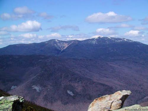 The northern Franconia Range...