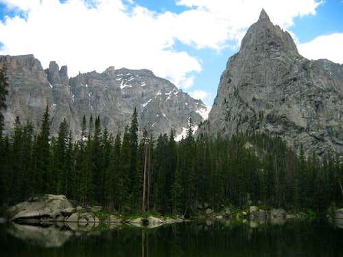 Lone Eagle Peak, Fair Glacier...