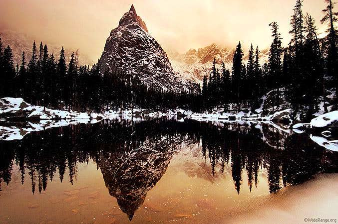 Lone Eagle Peak as seen at...