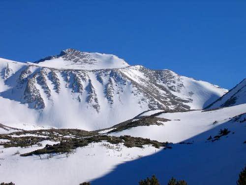 Snow chutes on Morgan - great...