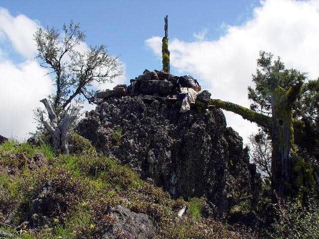 The summit pile