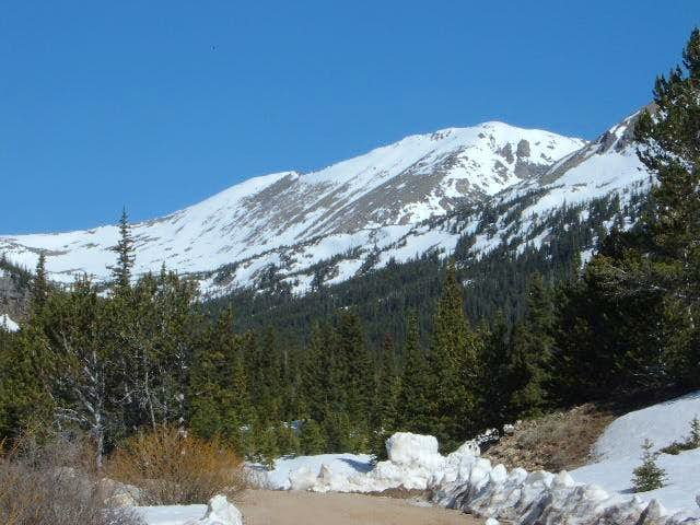 Arapahoe Pass via the Fourth of July Trailhead