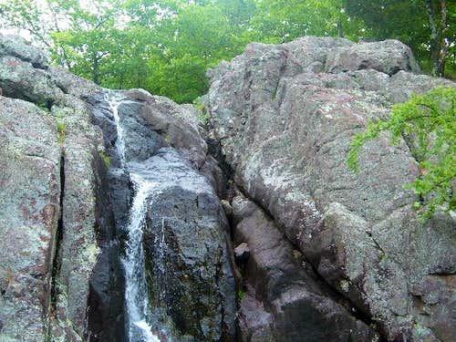 Among the several waterfalls...
