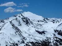 Mount Jasper was still covered...