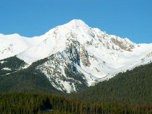 Kent Peak from the North Fork...