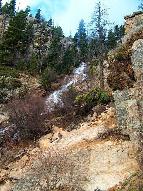The base of St. Marys Falls...