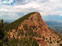 The soutwest ridge of Stove...