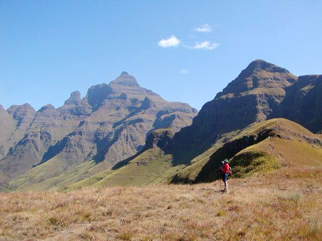 Cathedral Peak Approach Ridge