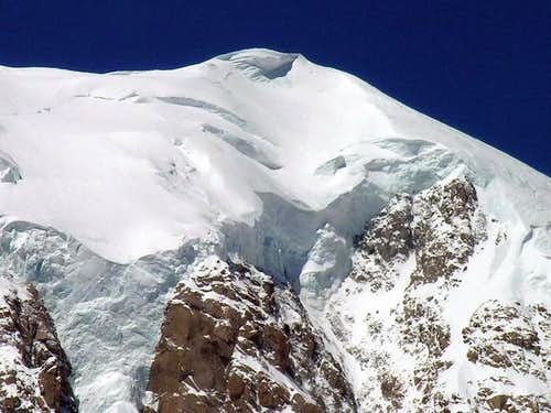 In the center the summit of...