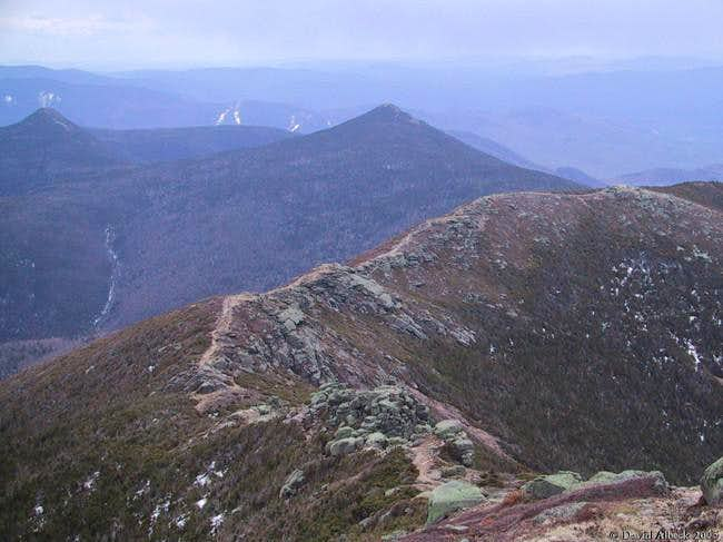 From Mt Lincoln, view south...