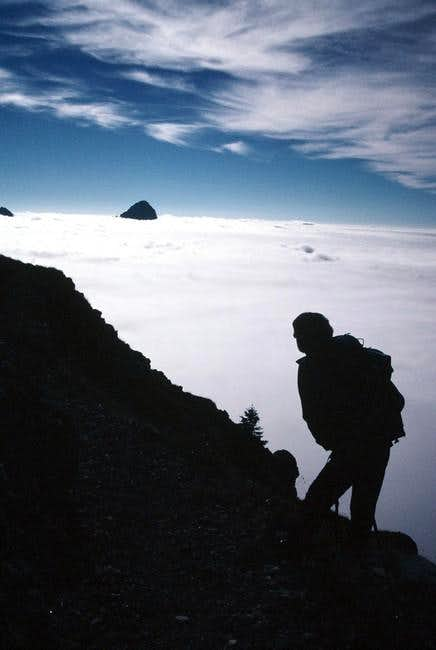 Look this peak from Zermula