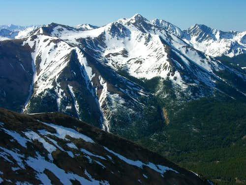 From Mount Blaurock, a...