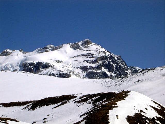 Yala Peak from high camp