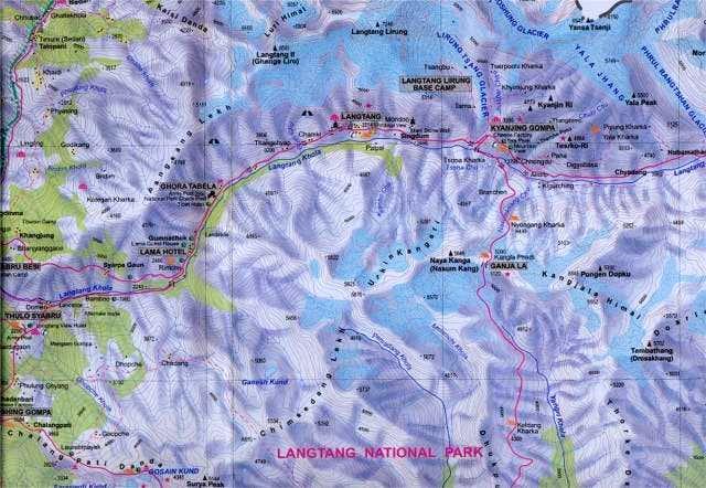 Langtang, getting to Kyanjin...