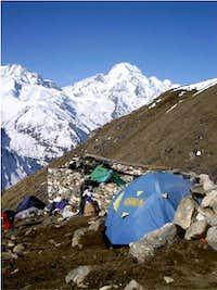 High camp at Yala Kharka