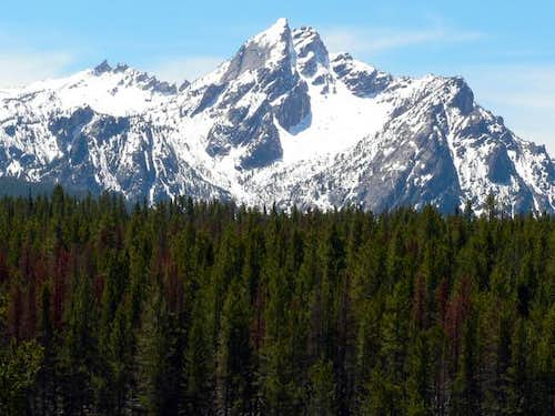 McGown Peak as seen from the...