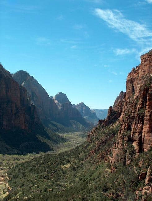 Views out West of Zion Canyon...