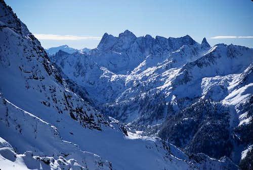 Mount Cowen as seen from...