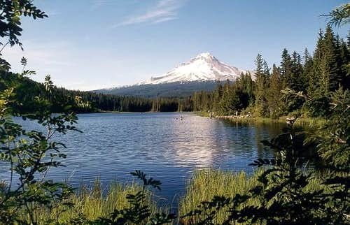 Camping at Trillium Lake with...