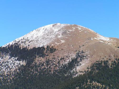 View of Santa Fe Baldy from...
