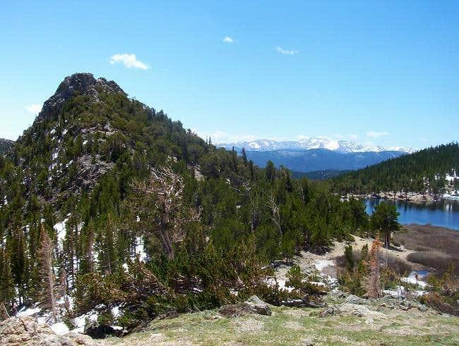 Fox Mountain's rugged slopes...