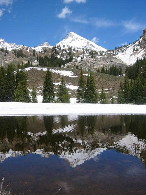Hyndman Peak Reflection - May...
