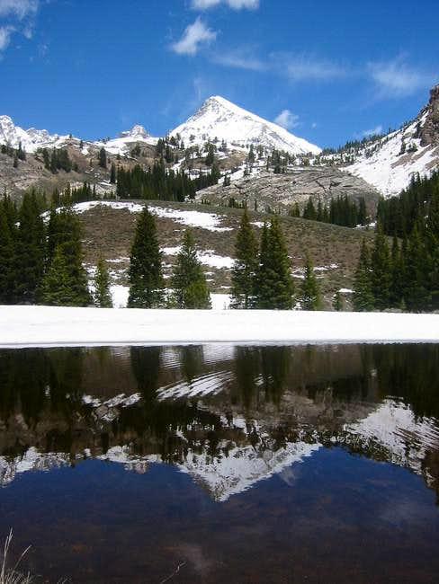 Hyndman Peak Reflection - May...