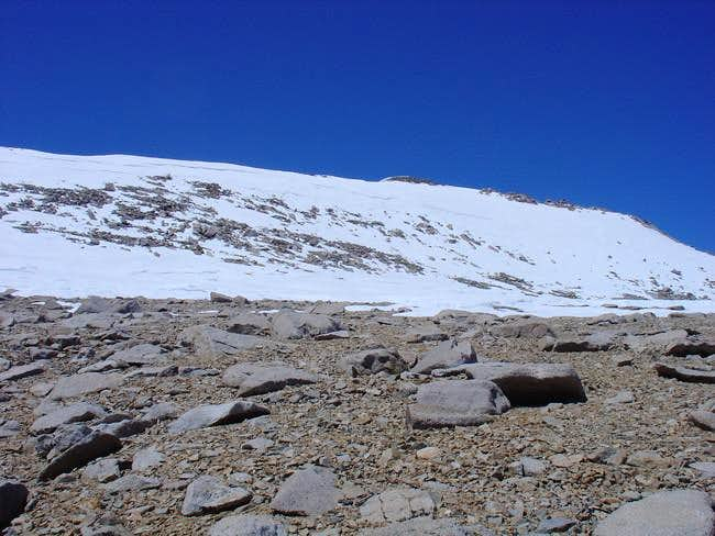 view of the summit from the...