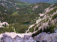 Nambe Lake from Lake Peak