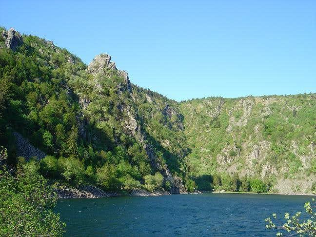 Lac Blanc (White Lake) and...