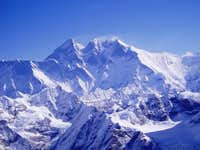 Everest seen from Mera Peak