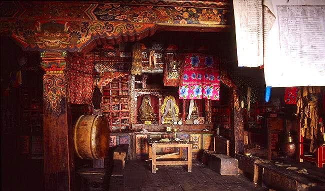 Monastery near Langtang village