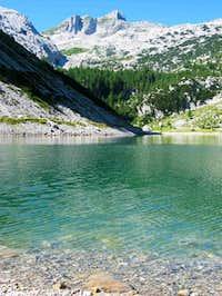 Krn from Krn Jezero (lake);...