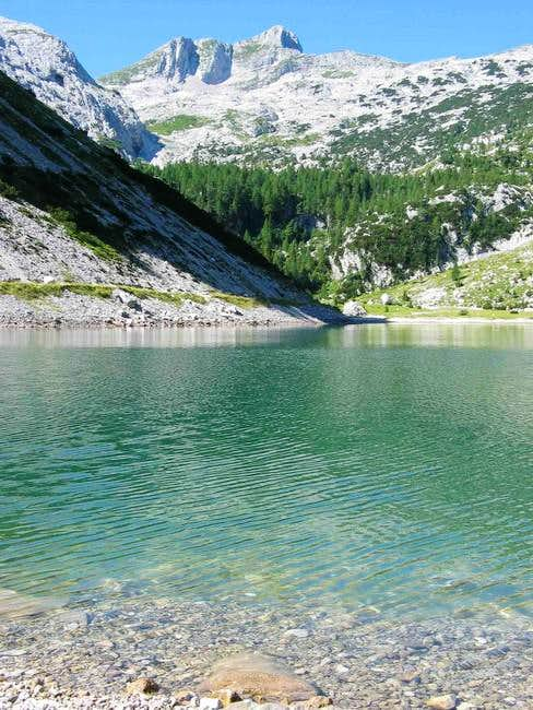 Krn from Krn Jezero (lake);...